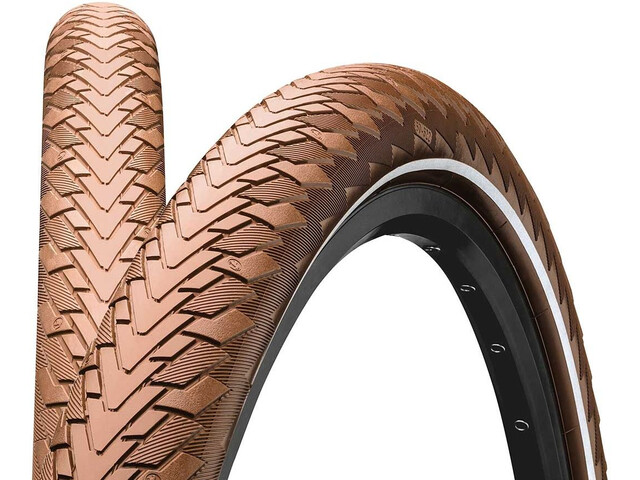 "Continental Contact Cruiser Wired-on Tire 26"" E-25 Reflex brown"
